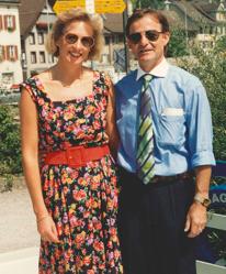 Die zweite Generation: Jakob und Marlies Müller-Kriech anlässlich der Feier zum 60. Firmenjubliäum.